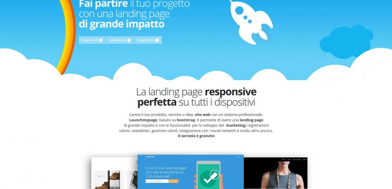 Launch page - Landing page gratis